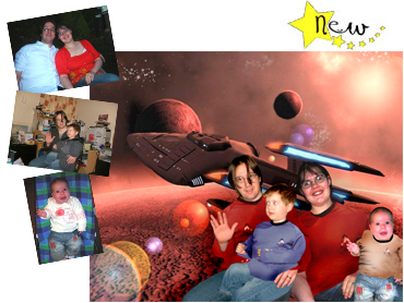 Star Trek Magical Photo Portrait - Perfect gift idea for any Star Trek fan out there - Great for Fathers Day.